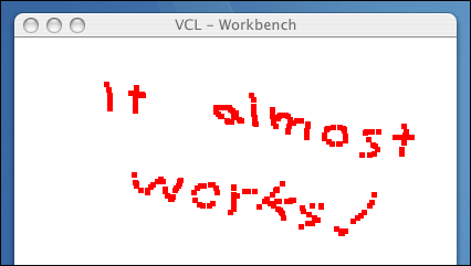 VCL Workbench